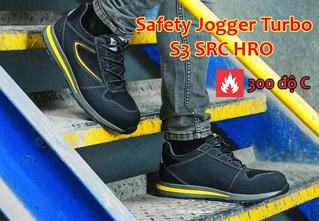 Giày bảo hộ Safety Jogger Turbo S3 HRO chịu nhiệt 300 độ C
