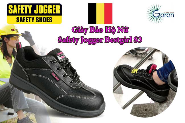 GIày bảo hộ nữ Jogger Bestgirl S3