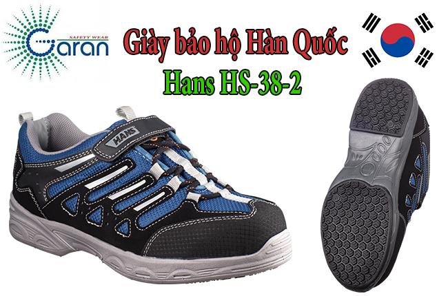 Giày bảo hộ siêu nhẹ Hàn Quốc Hans HS-38-2