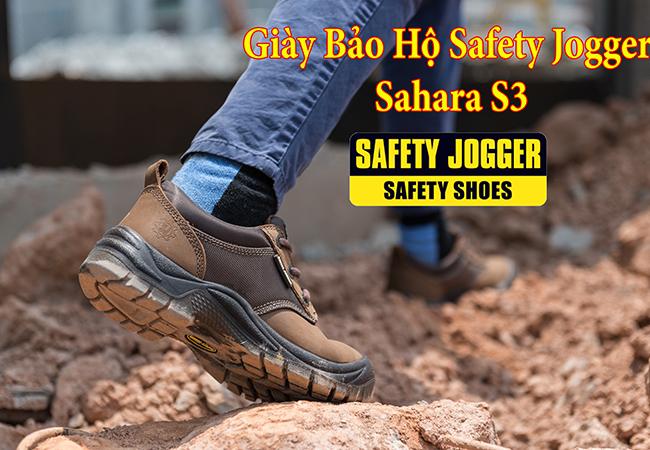 Giày Bảo Hộ Lao Động Safety Jogger Sahara S3 SRC