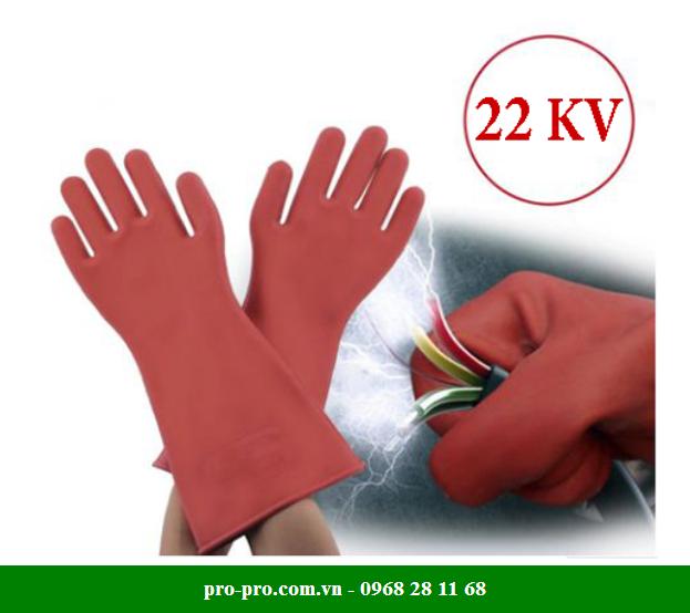 Găng tay cao su cách điện