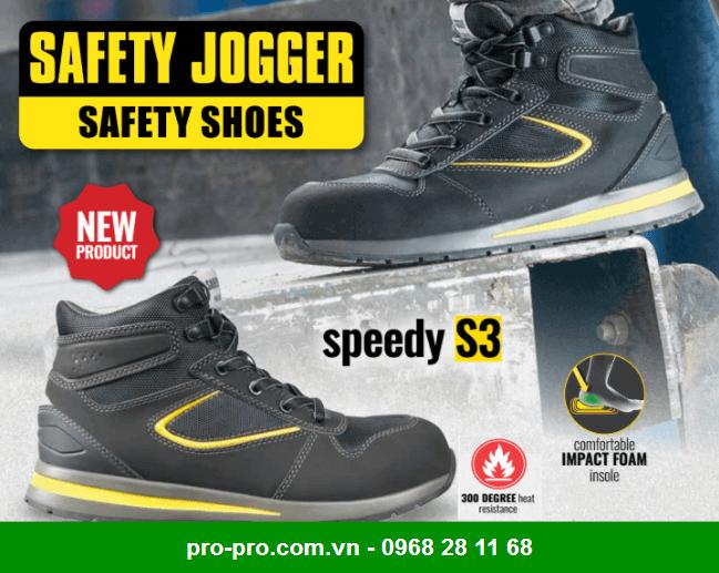 Giày Bảo Hộ Safety Jogger Dolce S3 SRC
