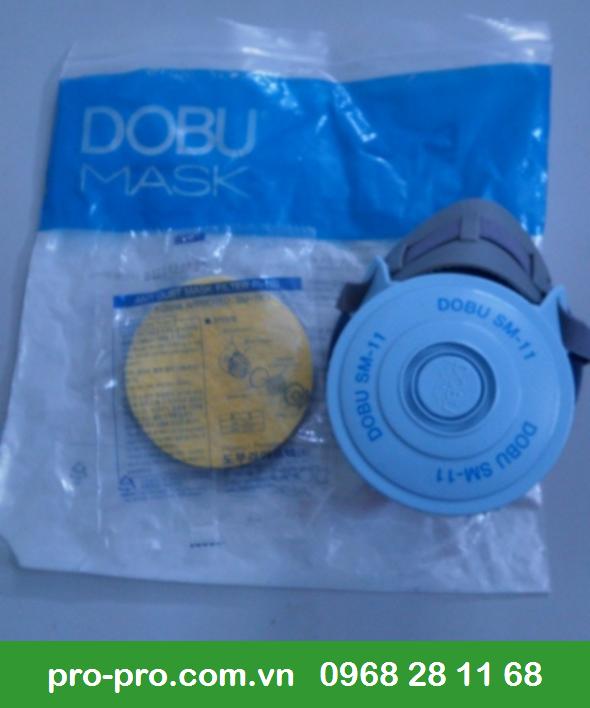 Mặt nạ phòng độc Dobu Hàn Quốc giúp người lao động thoải mái khi mang trong thời gian dài