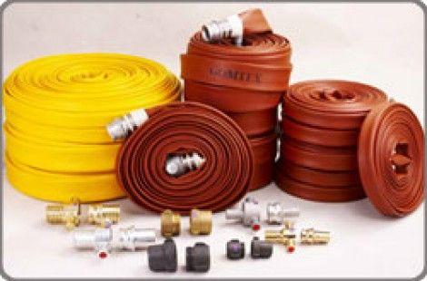 Vòi chữa cháy, cao su, cao su tổng hợp, halogen, nitro