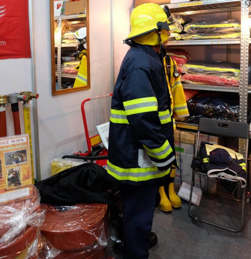 Quần áo chống cháy 2 lớp