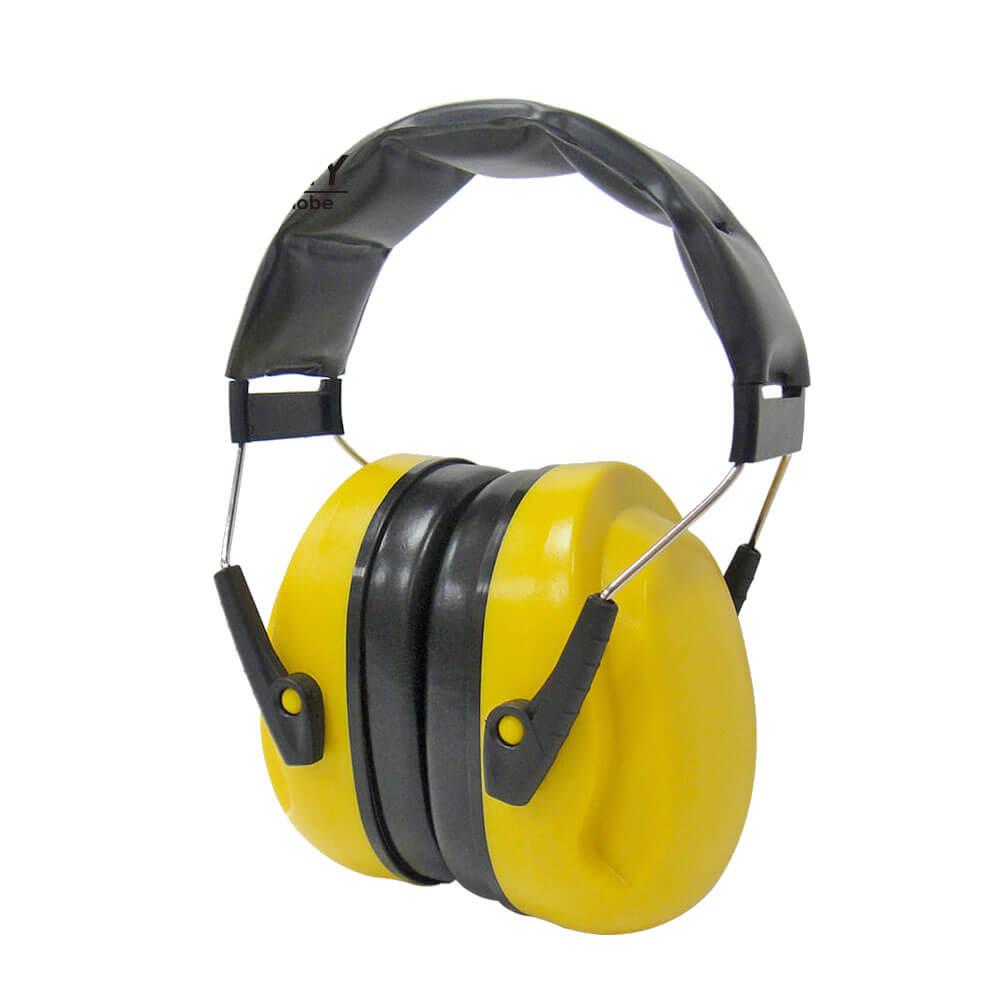 chụp tai chống ồn HC705 màu vàng