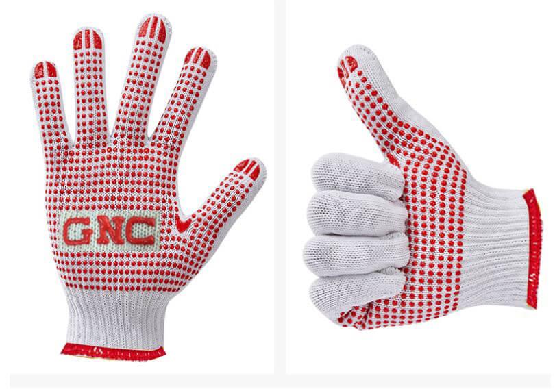 Găng tay len phủ hạt nhựa Pro-Pro