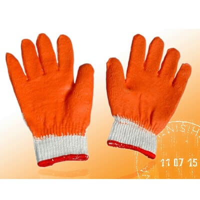 Găng tay bảo hộ phủ cao su kim 10