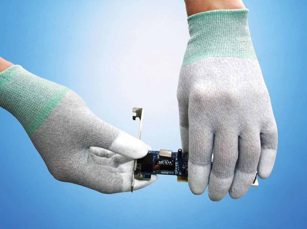 Găng tay sợi Carbon phủ đầu ngón tay