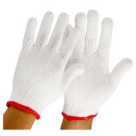 Găng tay sợi được sản xuất 100% từ sợi Poly với dây chuyền công nghệ hiện đại nhất