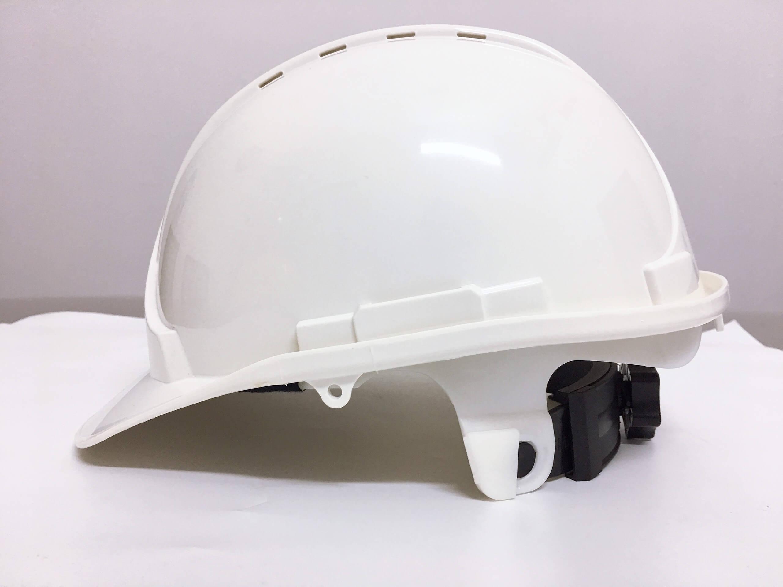 Mũ bảo hộ lao động Safegear trắng Đài Loan