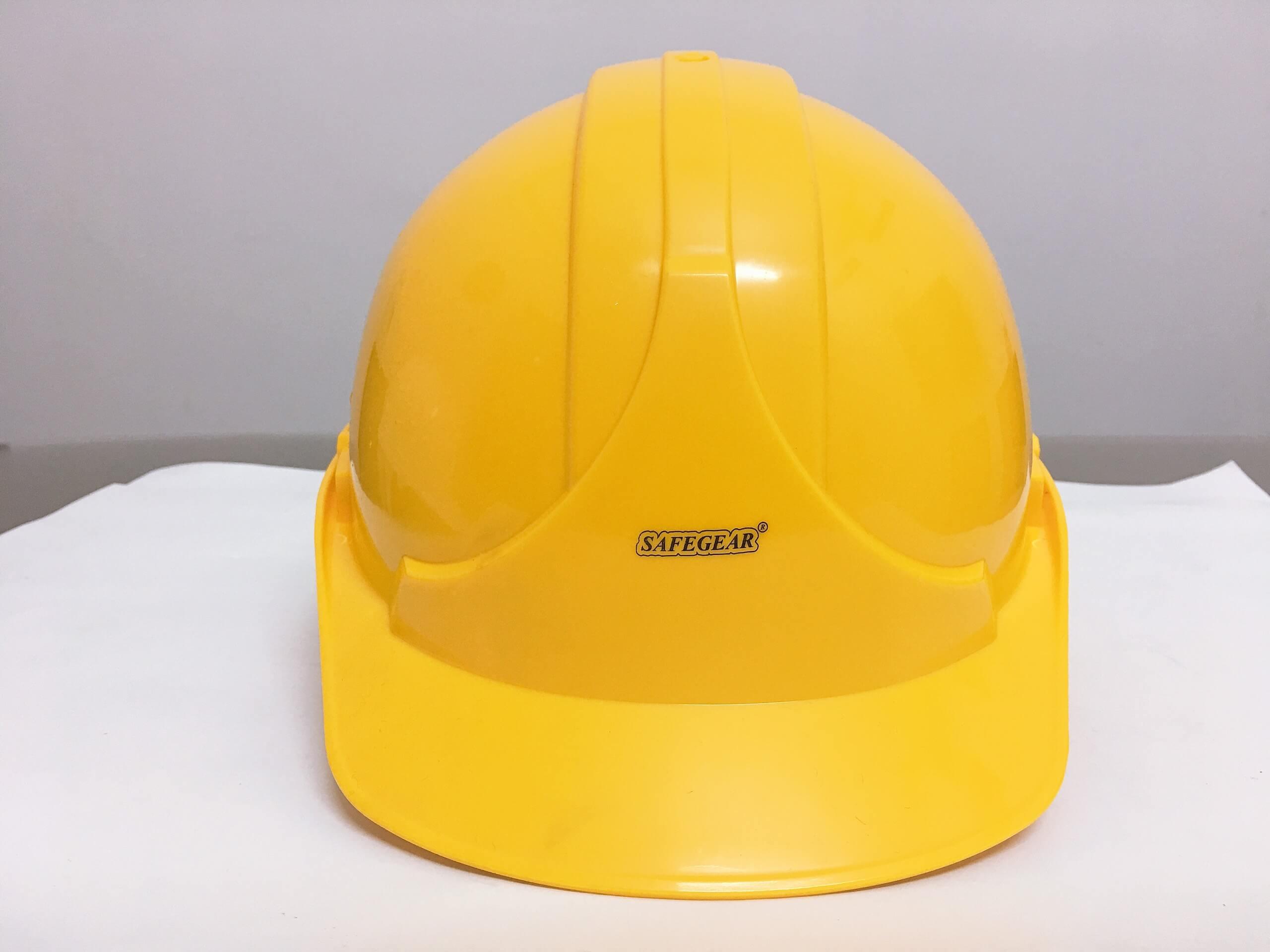 Mũ bảo hộ lao động Safegear vàng Đài Loan