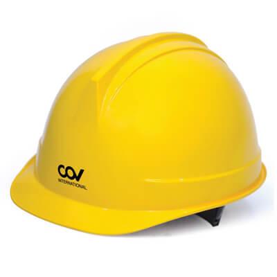 Mũ Bảo Hộ COV Màu Vàng