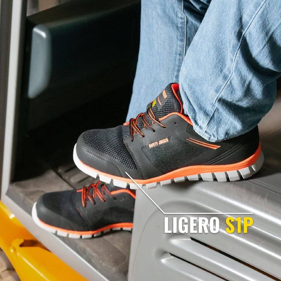 Safety Jogger Ligero S1P màu cam