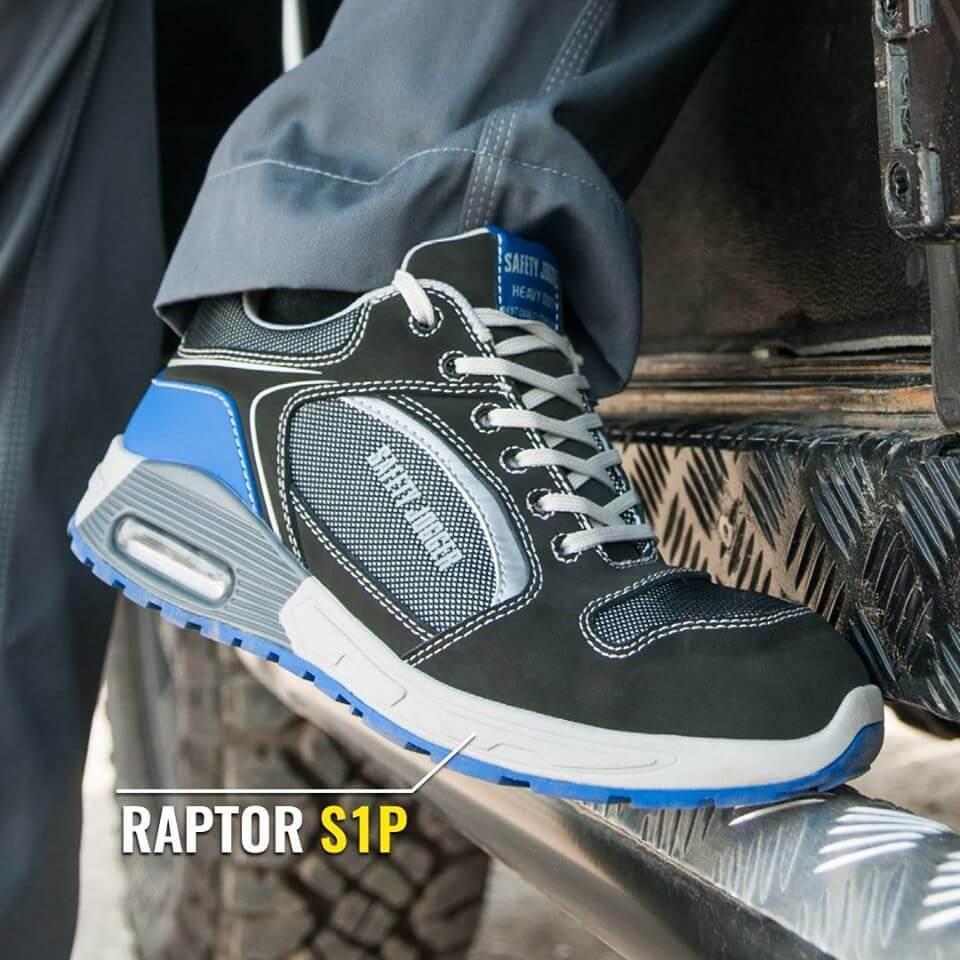Giày bảo hộ Jogger Raptor cổ thấp, thời trang, có thể vừa đi làm vừa đi chơi