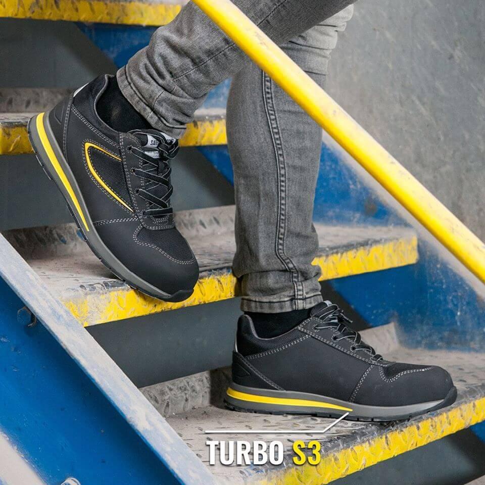 Giày bảo hộ Jogger Turbo cổ thấp, thời trang, có thể vừa đi làm vừa đi chơi