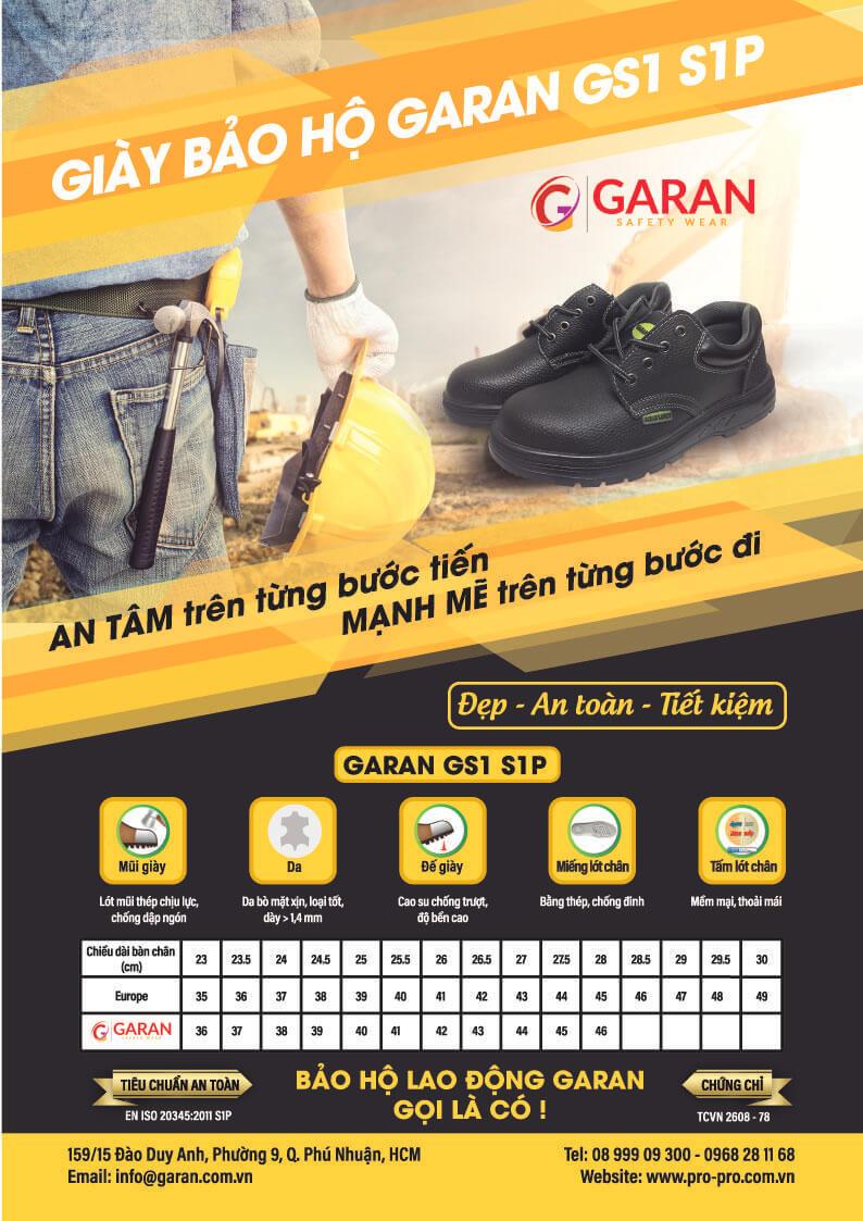 Giày bảo hộ GARAN GS1