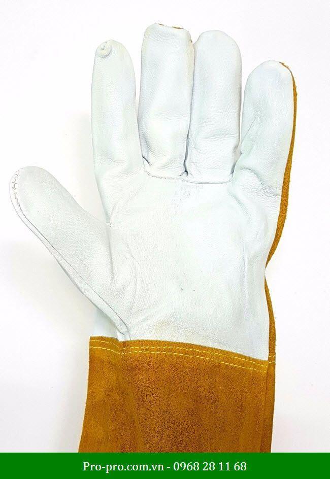 găng tay hàn có khả năng chống chịu tác động ngoại lực