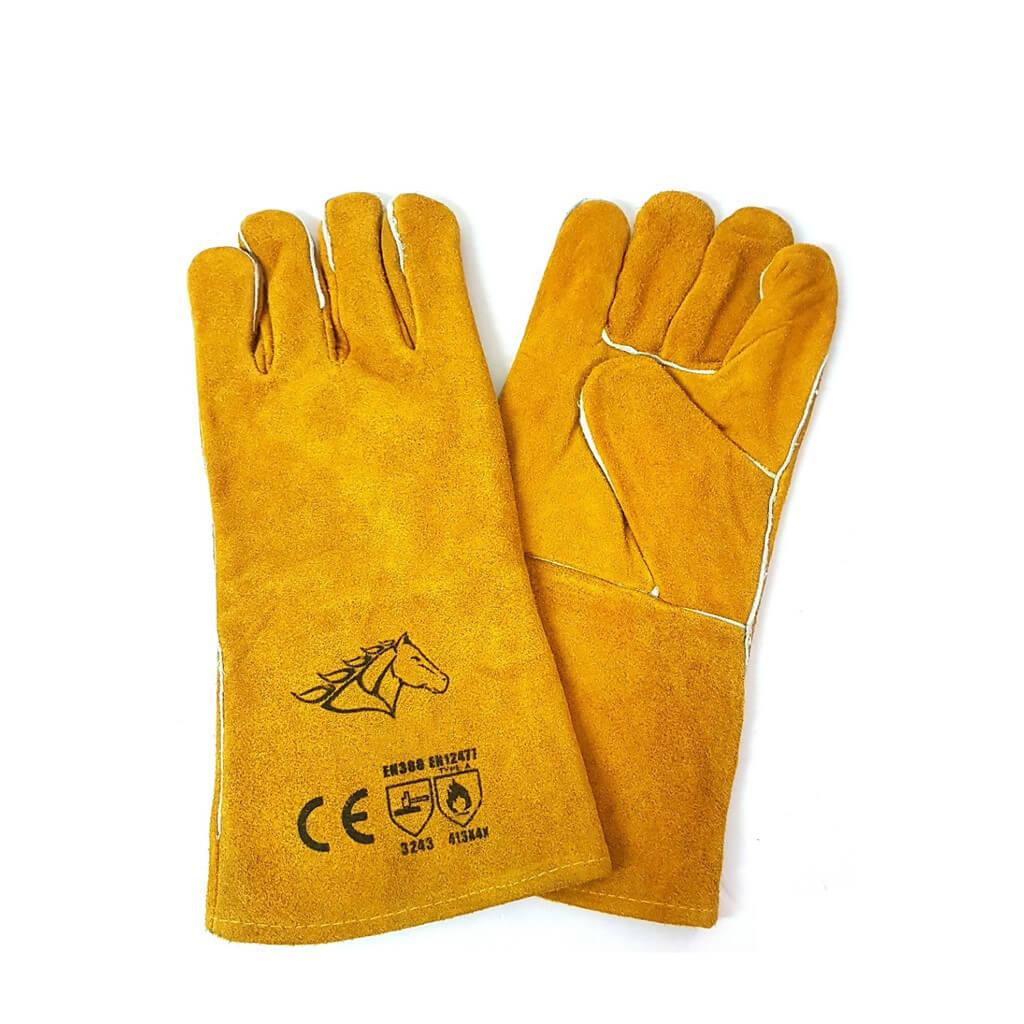 Găng tay da hàn chịu nhiệt độ cao