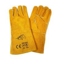 Găng tay hàn chất liệu Da Bò Mặt chịu nhiệt tốt