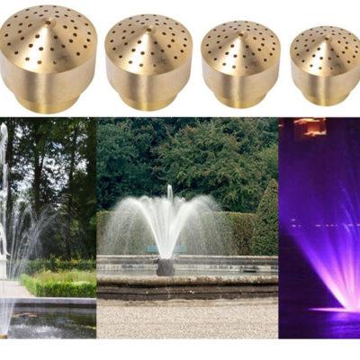 đầu phun nước nghệ thuật cho đài phun nước